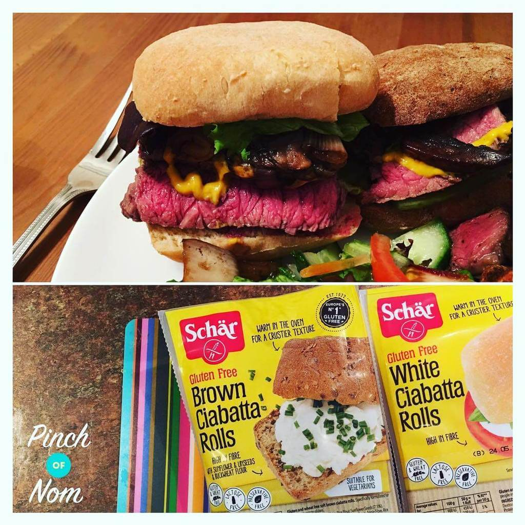 Free Weights Walmart: Schar Part Baked Ciabatta's Both White And Brown Are HExB
