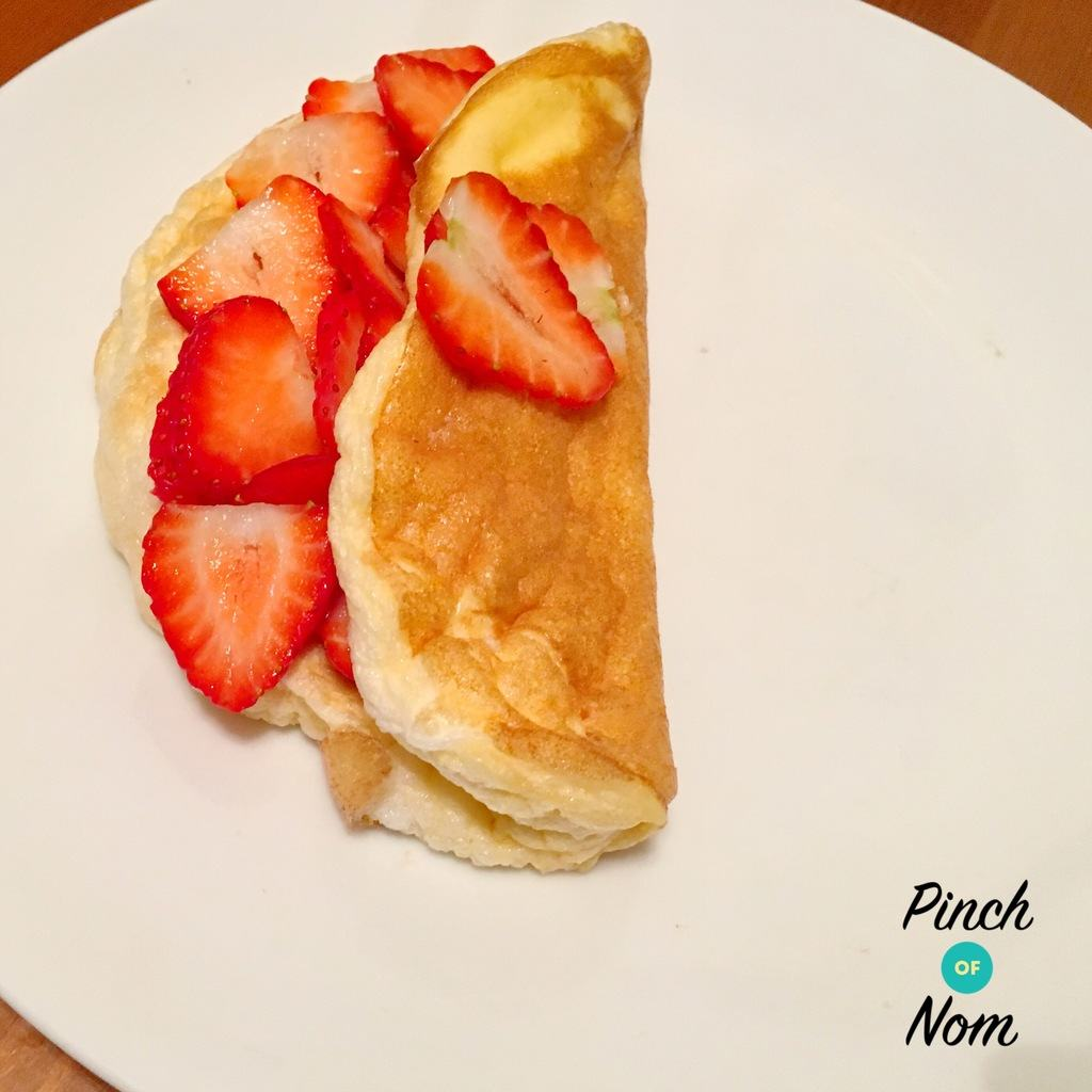 Sweet Souffle Omelette - Pinch of Nom Slimming Recipes