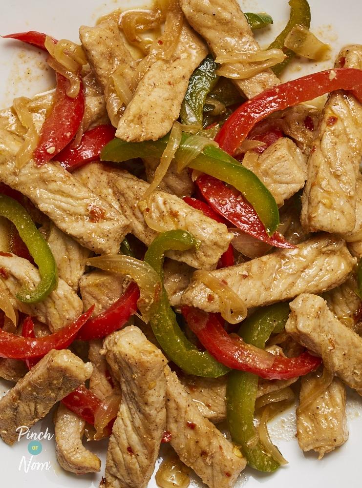 Salt and Pepper Pork - Pinch of Nom Slimming Recipes