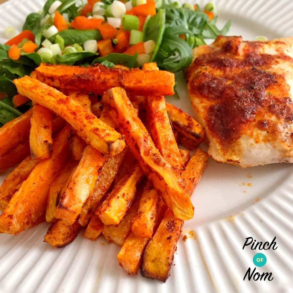 Sweet Potato Fries - Pinch of Nom Slimming Recipes