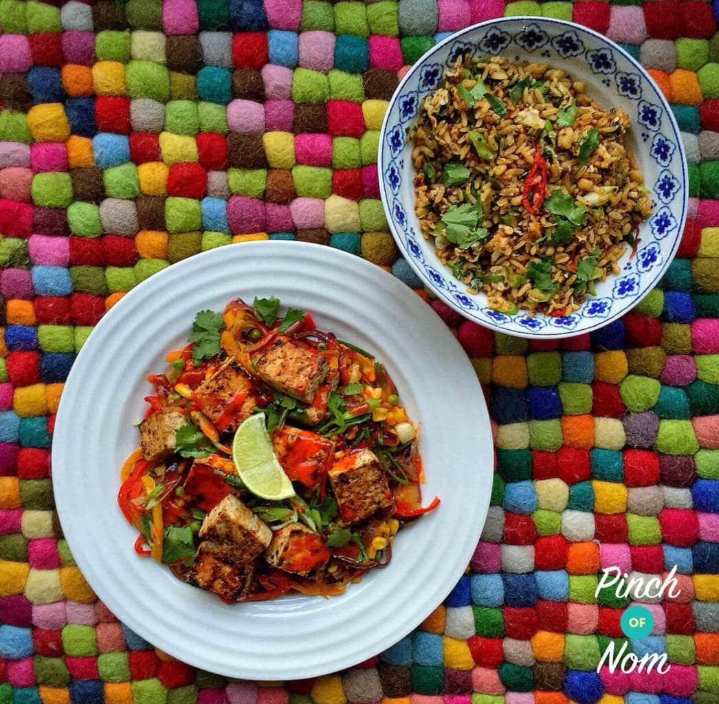 Salt and Pepper Tofu - Pinch of Nom Slimming Recipes