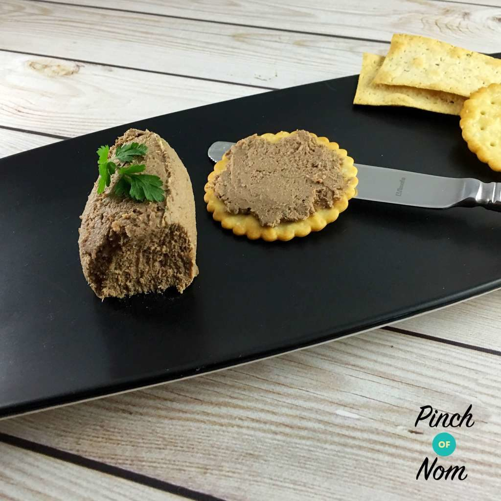Chicken Liver and Bacon Pate - Pinch of Nom Slimming Recipes