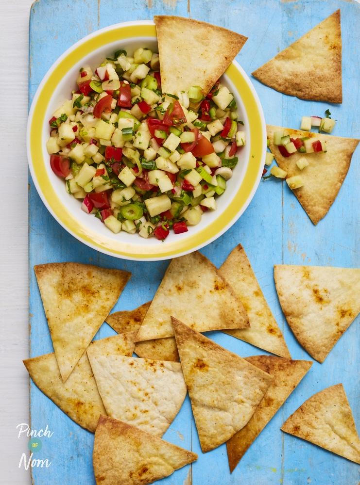 Pineapple Salsa - Pinch of Nom Slimming Recipes