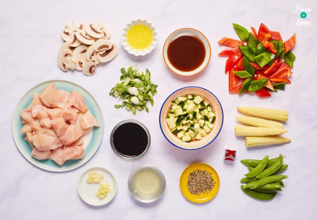 Chicken in Black Pepper - Pinch of Nom Slimming Recipes