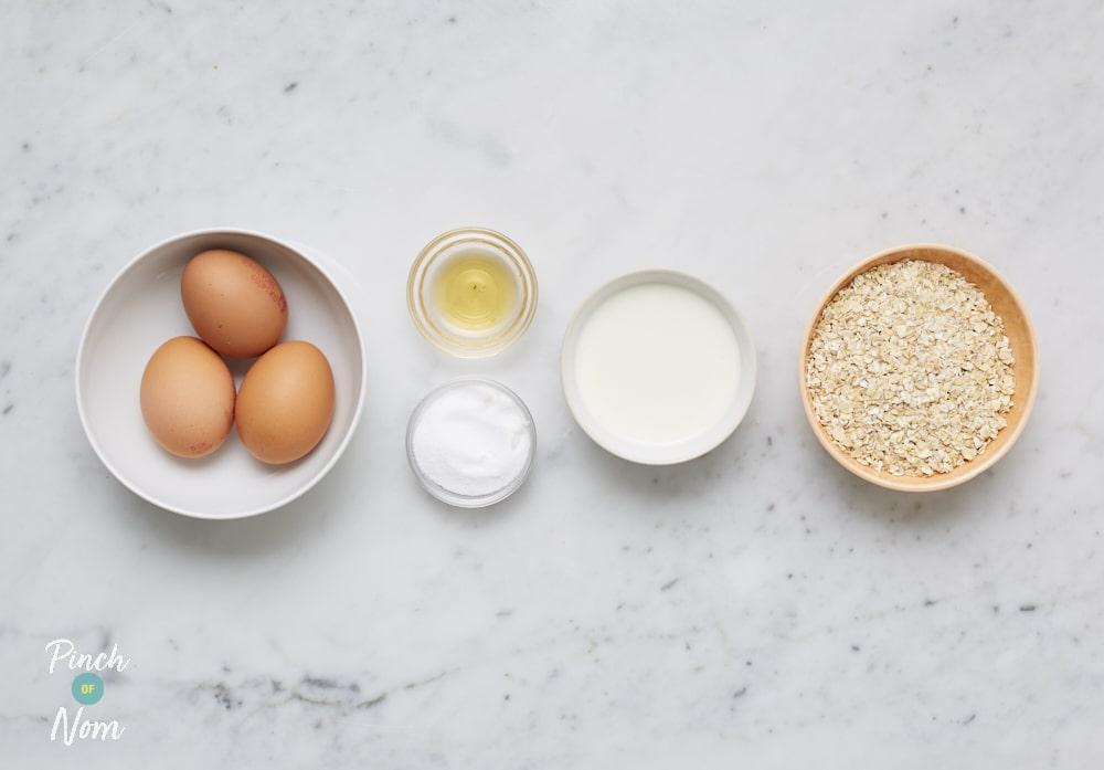 Oat Pancakes - Pinch of Nom Slimming Recipes
