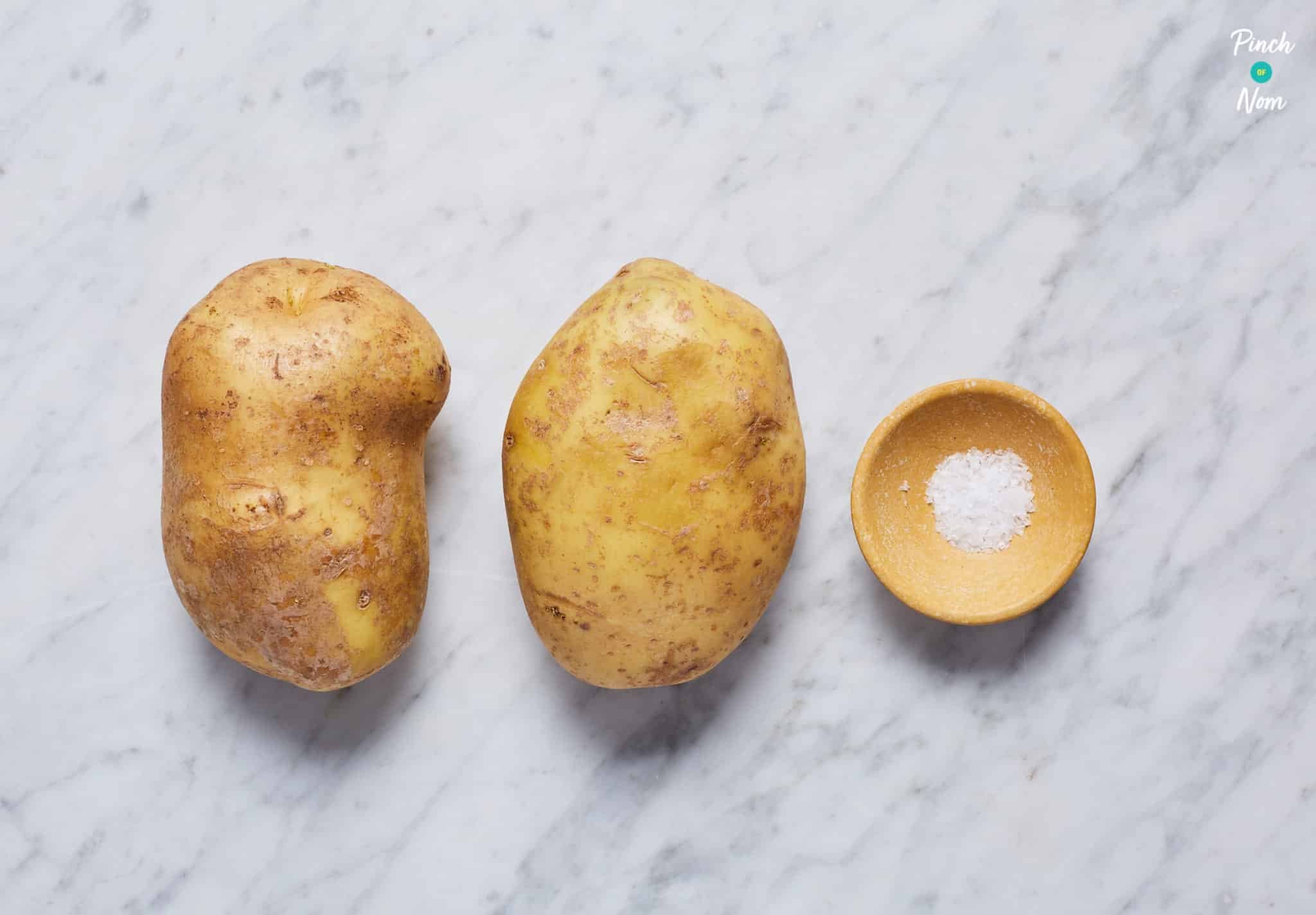 Roast Potatoes - Pinch of Nom Slimming Recipes