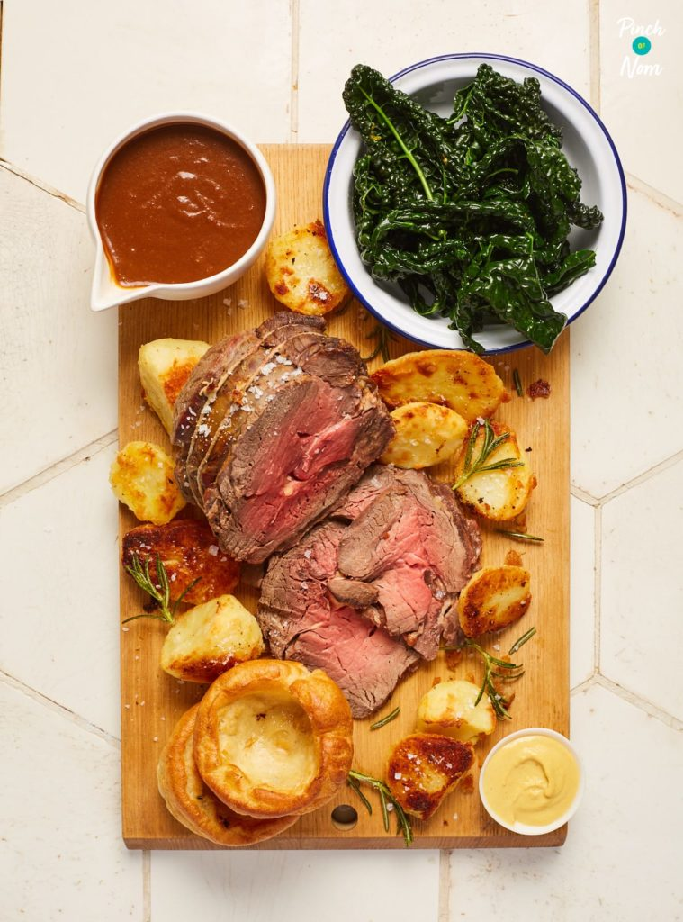 Roast Beef and Gravy - Pinch of Nom Slimming Recipes