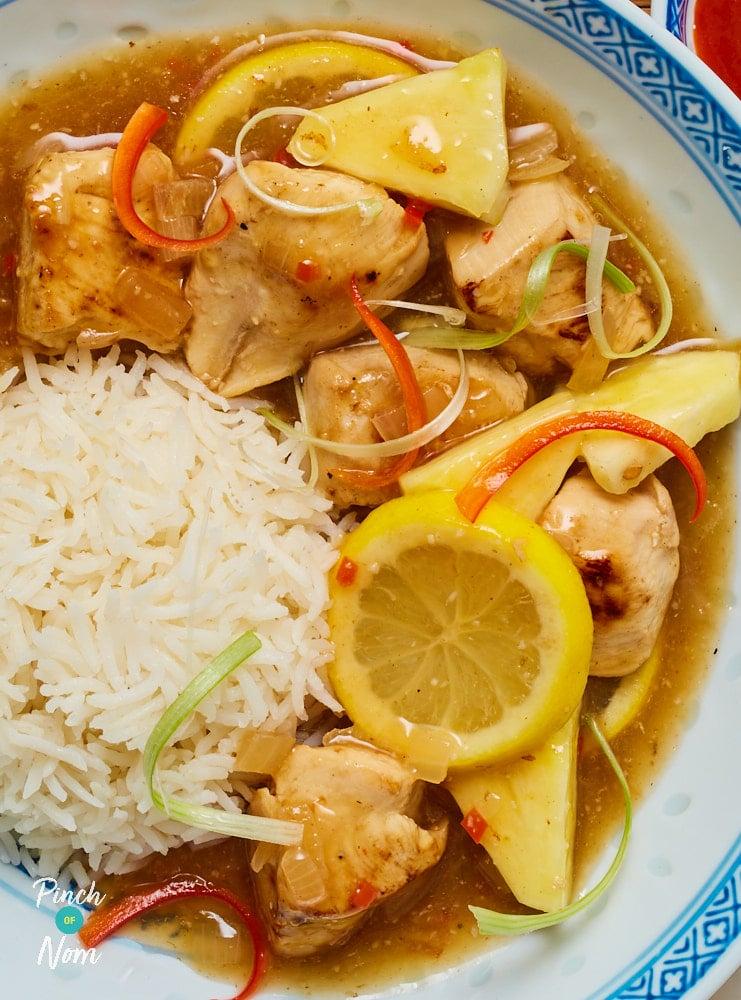 Lemon Chicken - Pinch of Nom Slimming Recipes