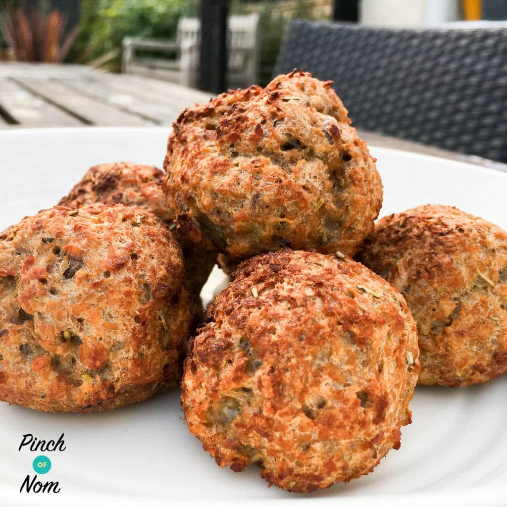 Stuffing Balls - Pinch of Nom Slimming Recipes