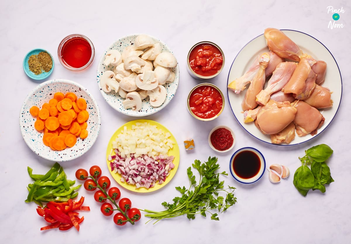Chicken Cacciatore - Pinch of Nom Slimming Recipes
