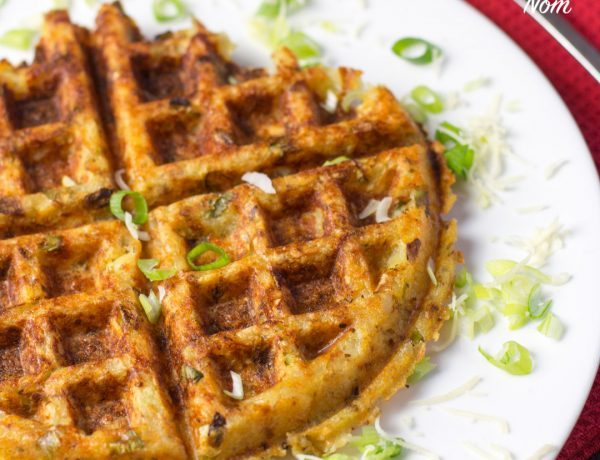 1 Syn Potato, Cheese and Onion Waffles