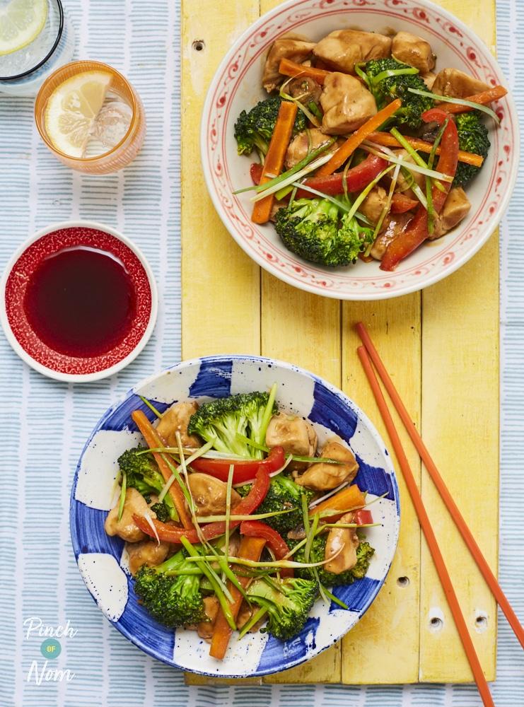 Hoisin Chicken - Pinch of Nom Slimming Recipes