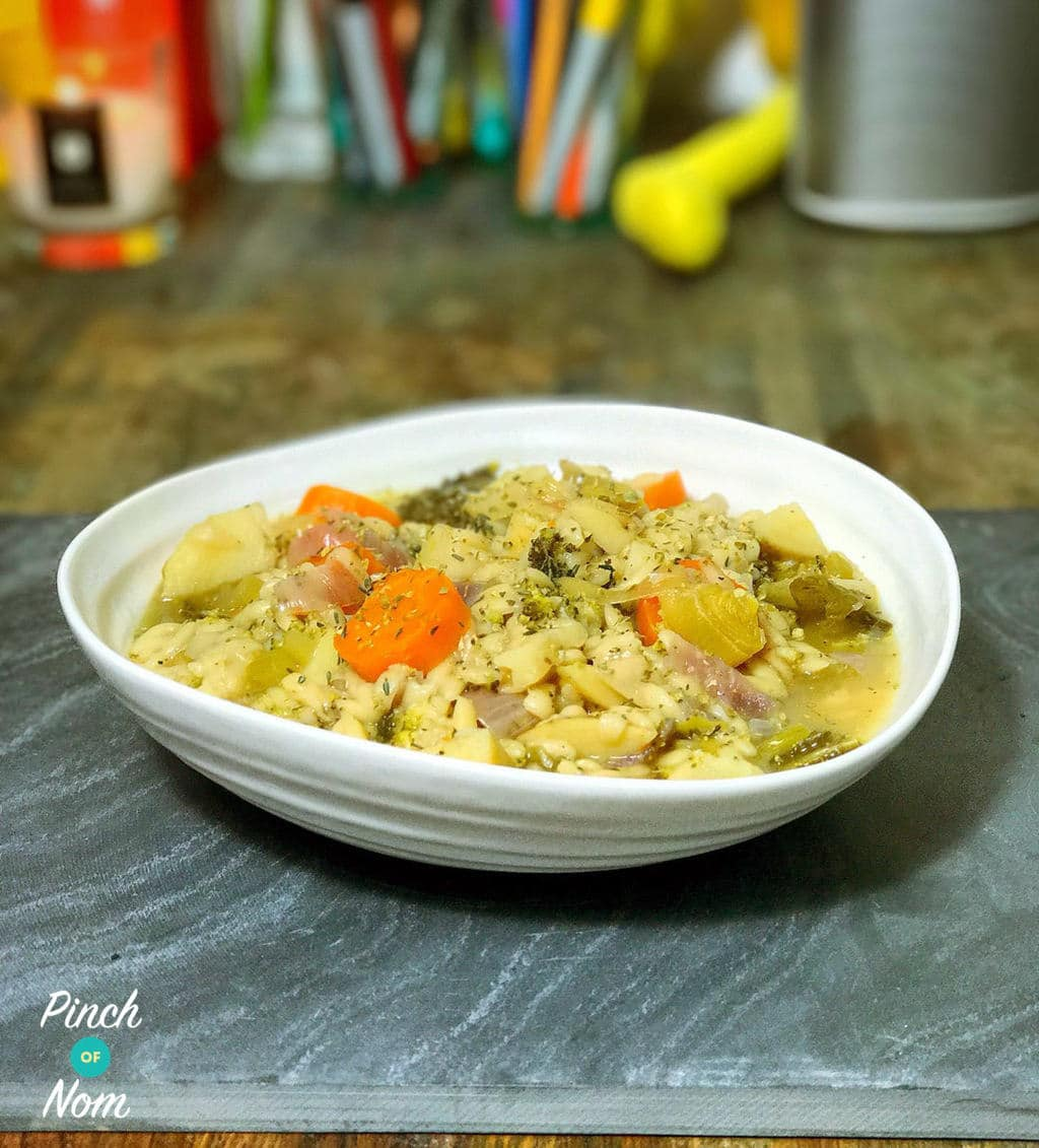 Vegetable Stew with Orzo - Pinch of Nom Slimming Recipes