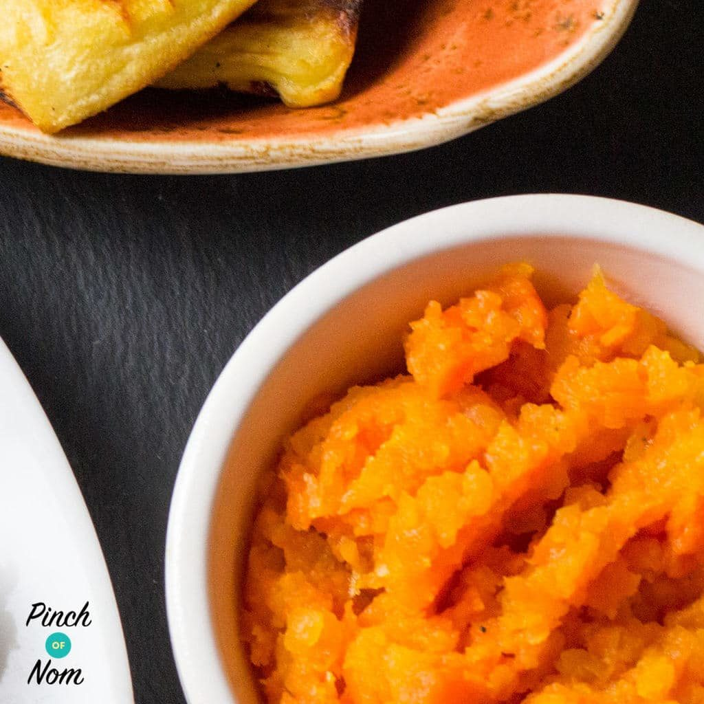 Buttery Carrot and Swede Mash - Pinch of Nom Slimming Recipes