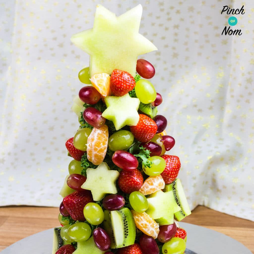 Fruit Christmas Tree pinchofnom.com