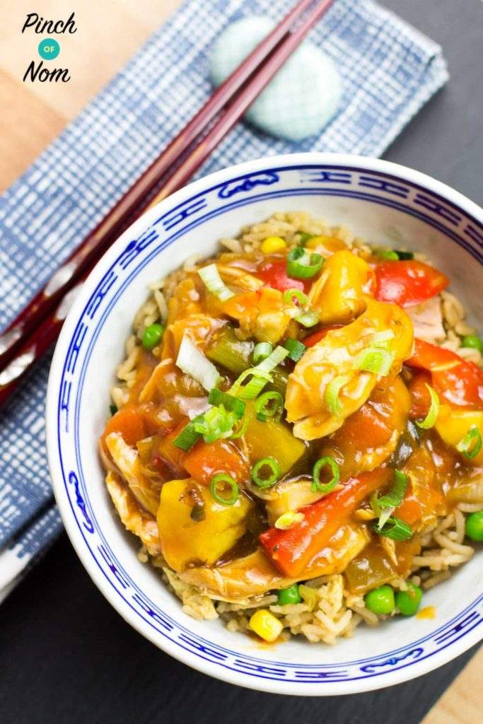 Syn Free Instant Pot Sweet & Sour Chicken   Slimming World