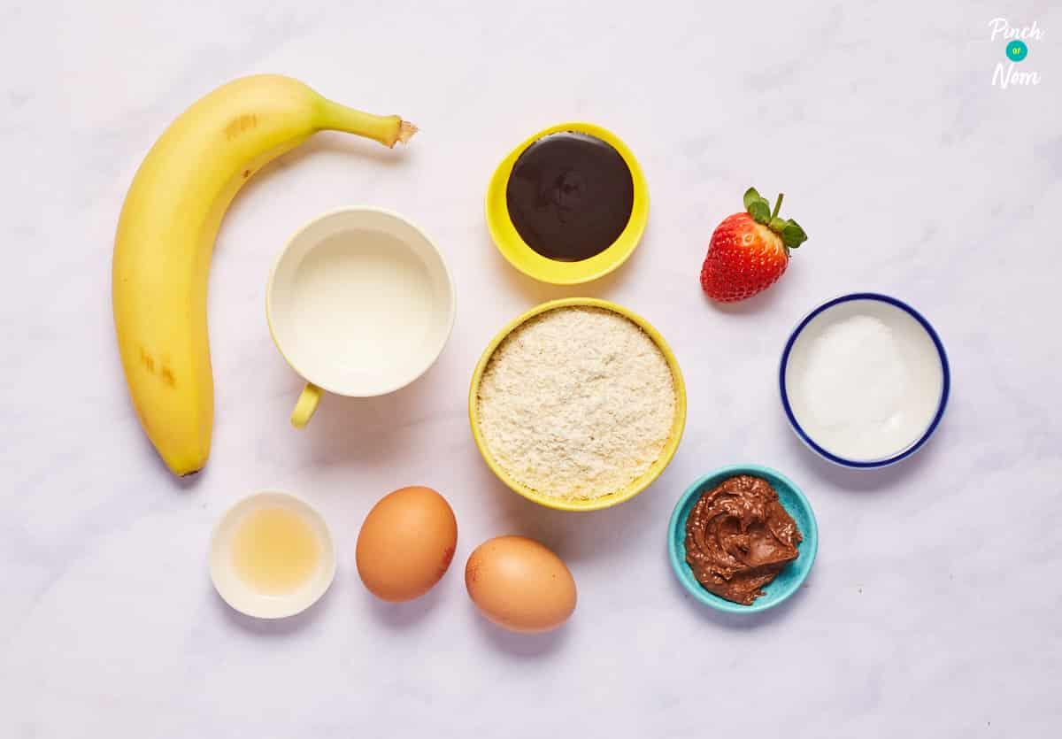 Banana and Chocolate Pancakes - Pinch of Nom Slimming Recipes