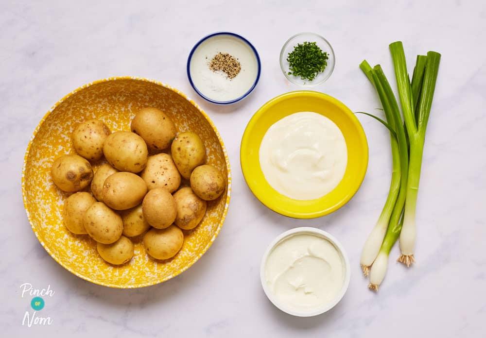 Potato Salad - Pinch of Nom Slimming Recipes