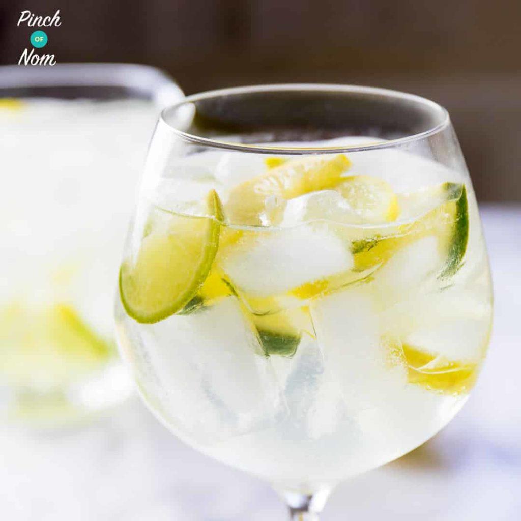 Elderflower Gin Fizz pinchofnom.com