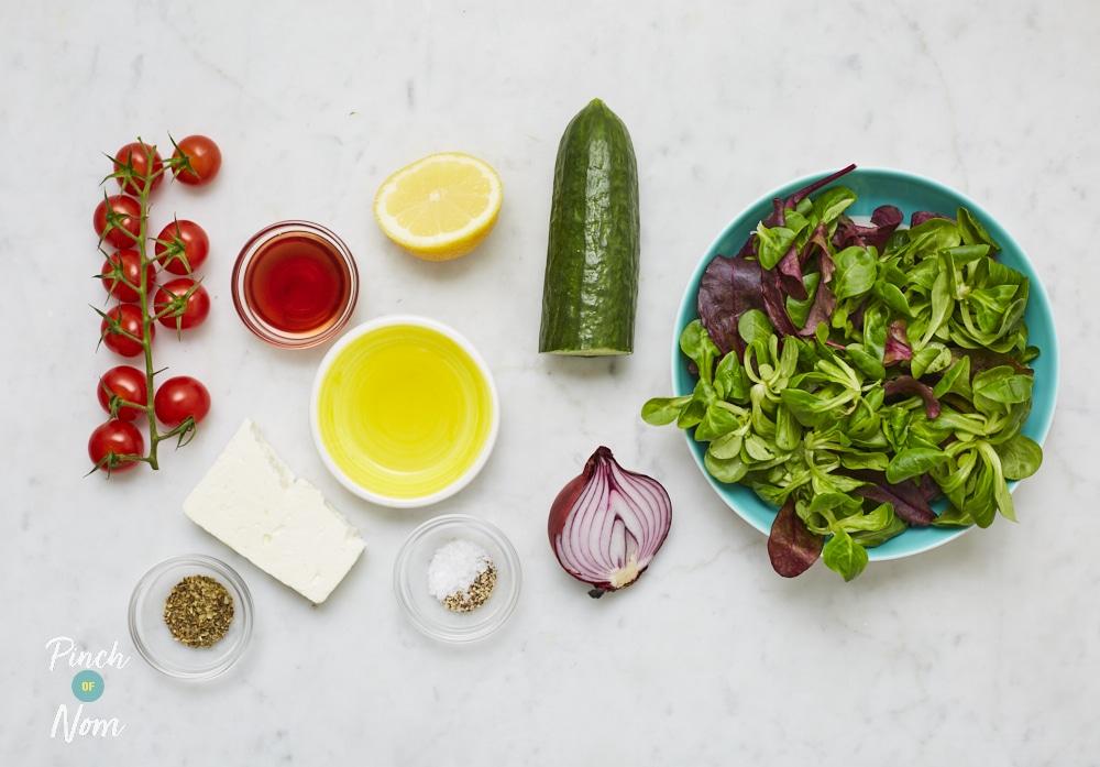 Greek Salad - Pinch of Nom Slimming Recipes