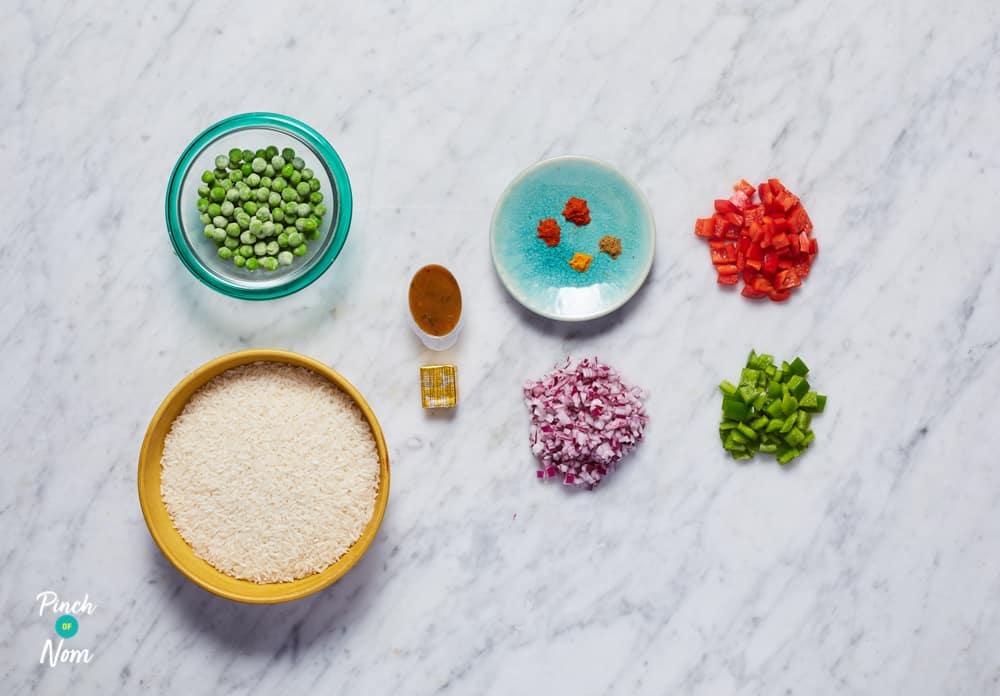 Nando's Spicy Rice - Pinch of Nom Slimming Recipes