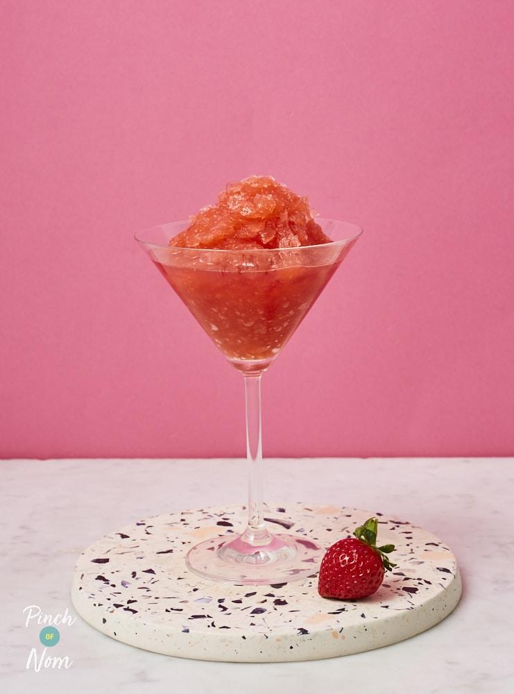 Strawberry Daiquiri - Pinch of Nom Slimming Recipes