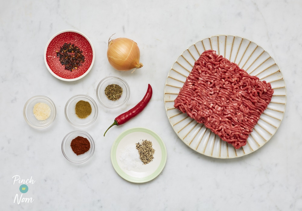 Tex Mex Burgers - Pinch of Nom Slimming Recipes