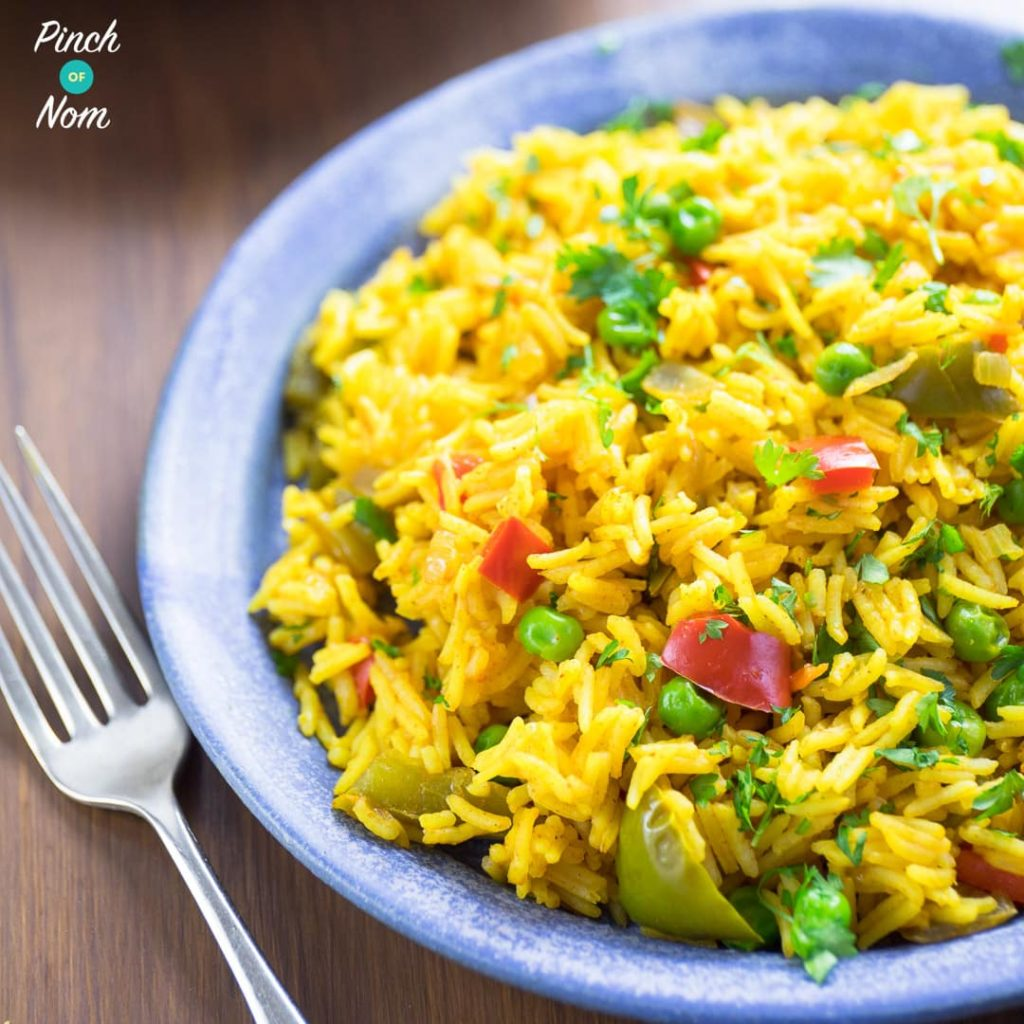 Nando's Spicy Rice pinchofnom.com