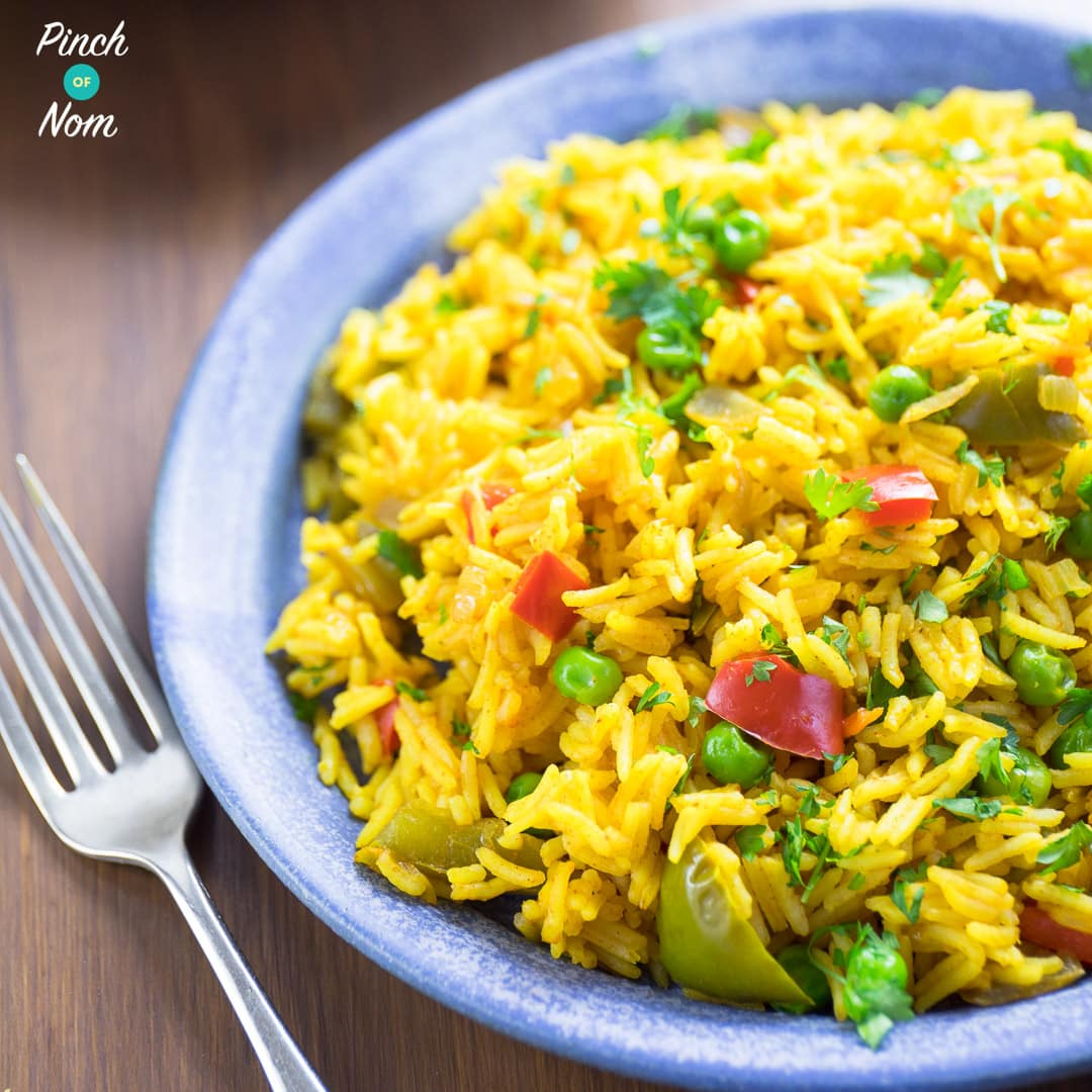 Nando's Spicy Rice - Pinch of Nom Slimming Recipes