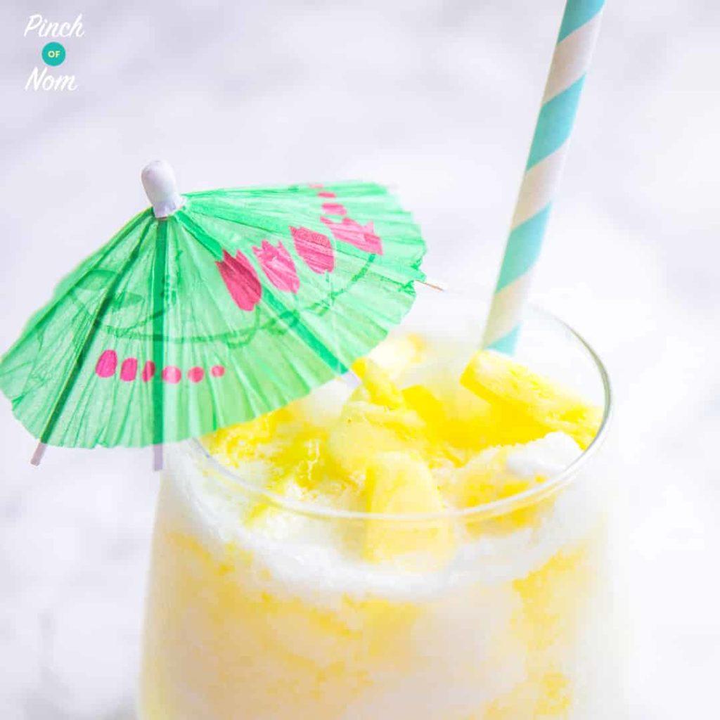 Pina Colada Cocktail - Pinch of Nom Slimming Recipes