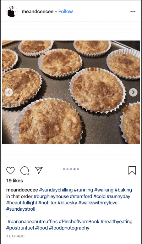 Banana and Peanut Muffins - Pinch of Nom Slimming Recipes