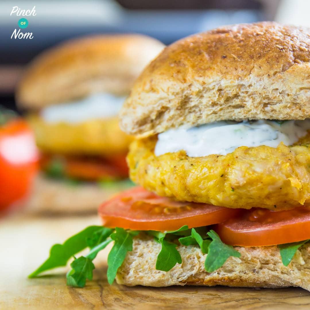 Tikka Turkey Burgers pinchofnom.com