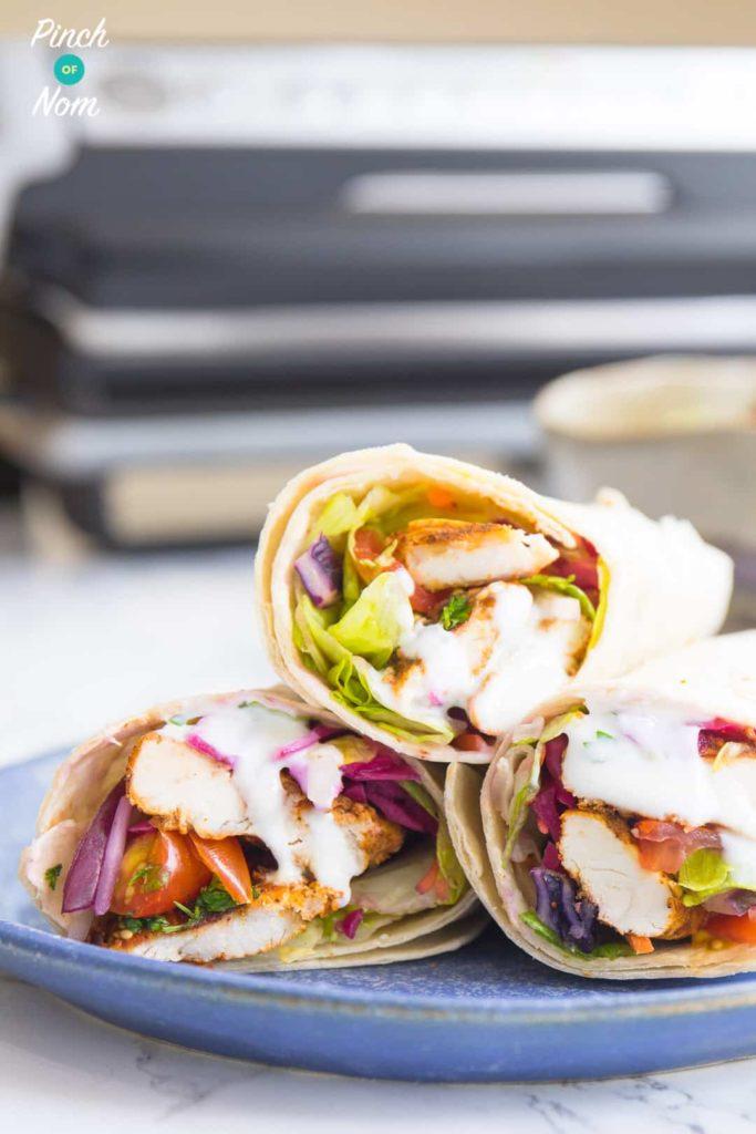 Chicken Shawarma - Pinch of Nom Slimming Recipes