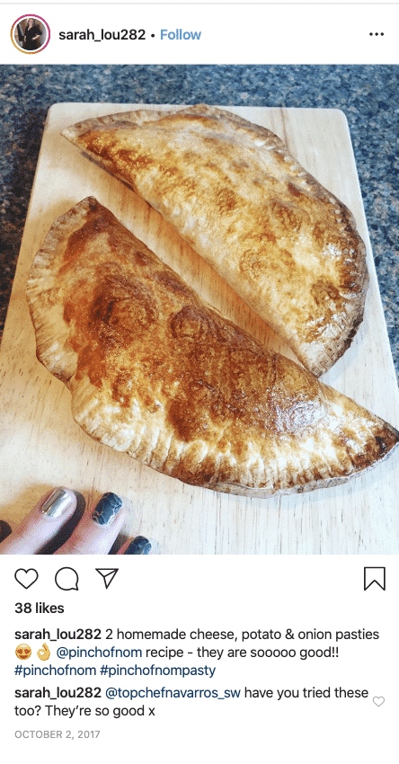 Cheese and Onion Pasties - Pinch of Nom Slimming Recipes