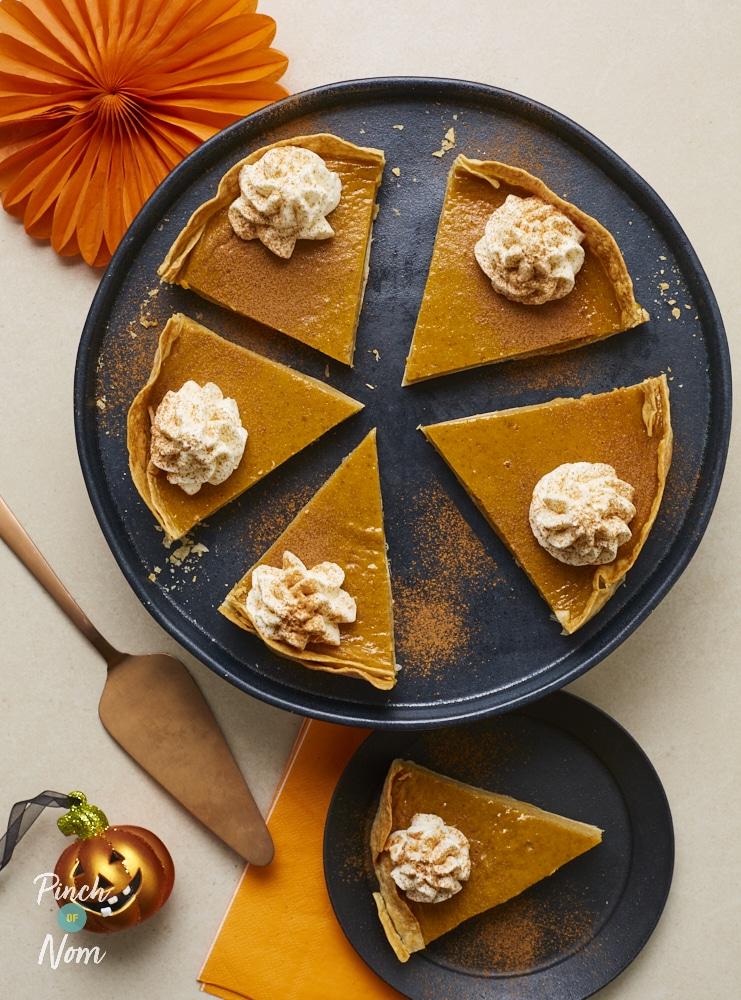 Pumpkin Pie - Pinch of Nom Slimming Recipes
