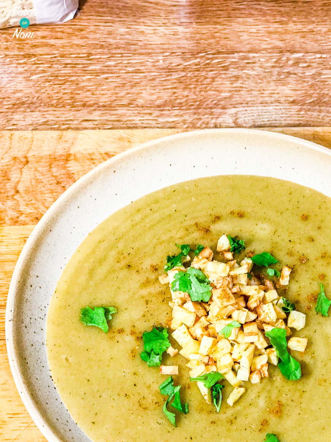 Curried Parsnip Soup pinchofnom.com
