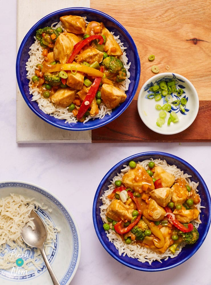 Chicken Satay Curry - Pinch of Nom Slimming Recipes