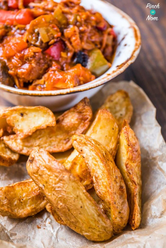 Syn Free Rustic Potato Wedges | Slimming World-2