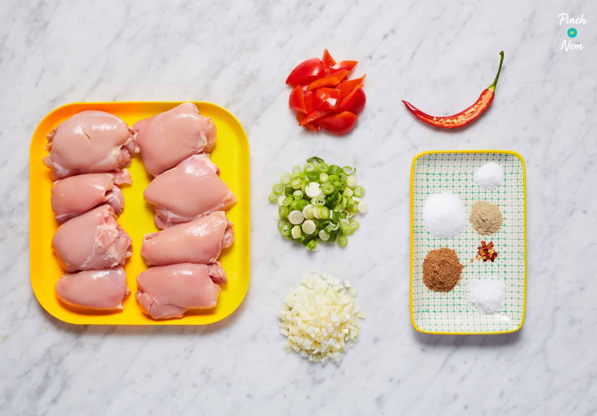 Salt and Pepper Chicken - Pinch of Nom Slimming Recipes