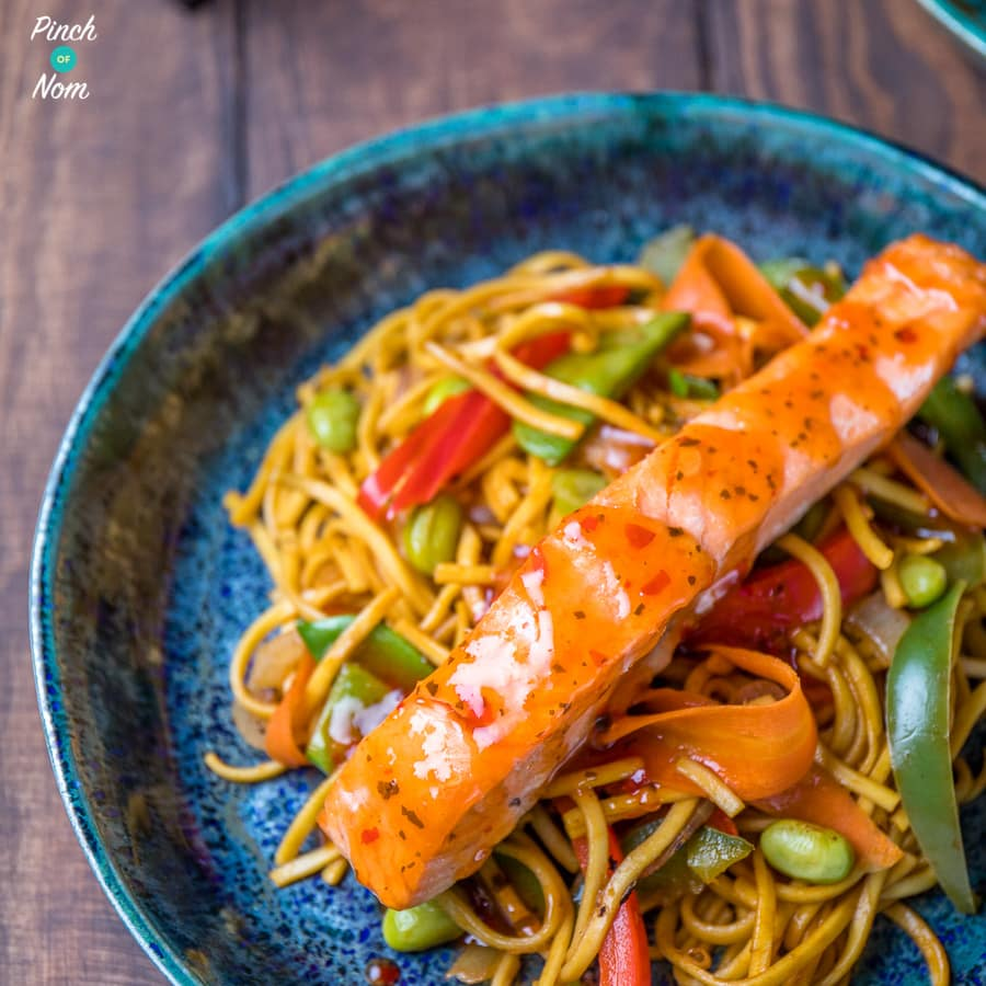 featured Ginger, Chilli & Lime Salmon with noodles-1