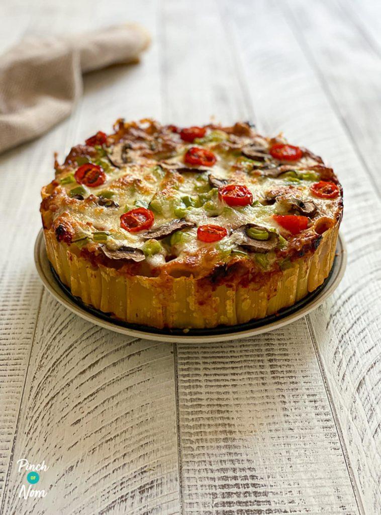 Rigatoni Pizza Pie pinchofnom.com