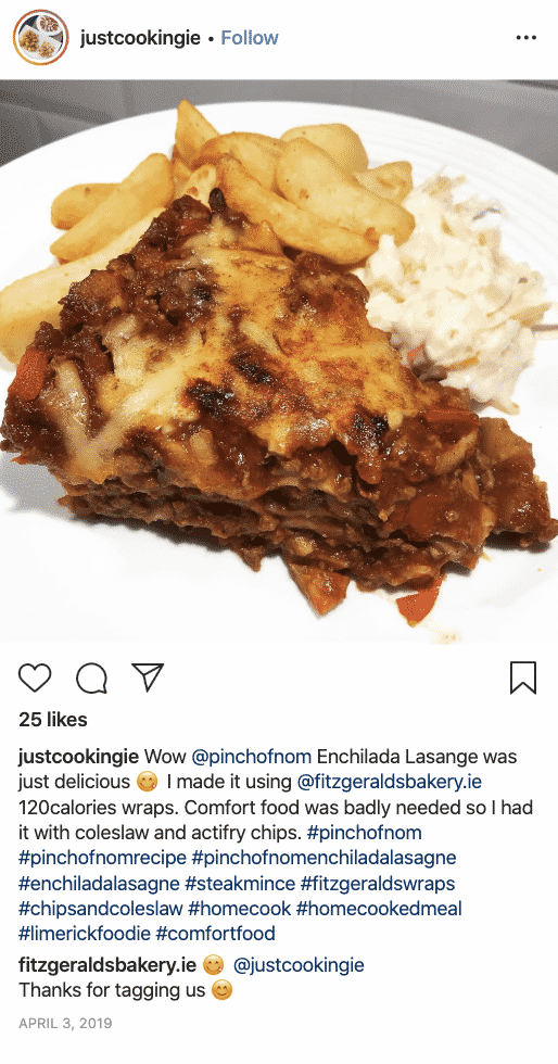 Enchilada Lasagne - Pinch of Nom Slimming Recipes