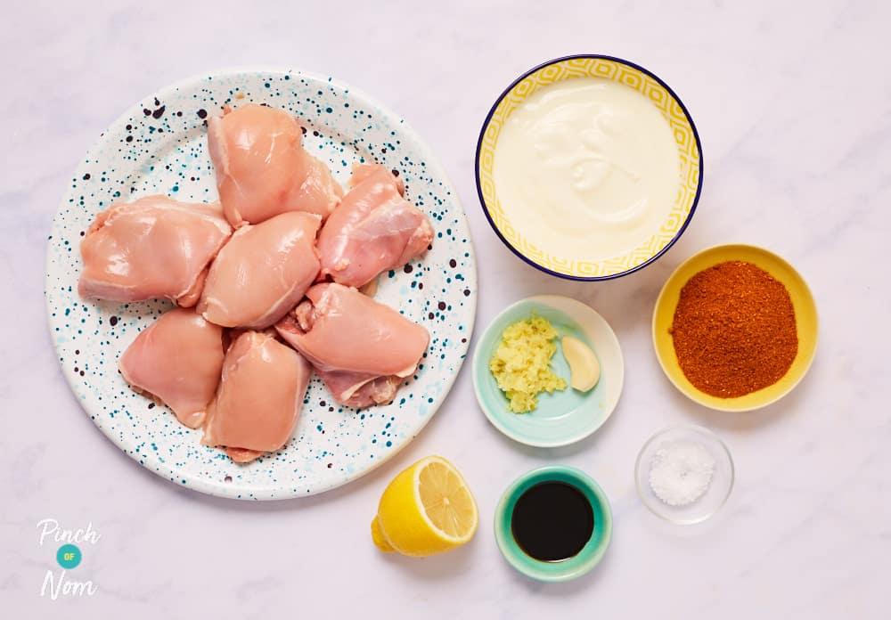 Chicken Tandoori Kebabs - Pinch of Nom Slimming Recipes