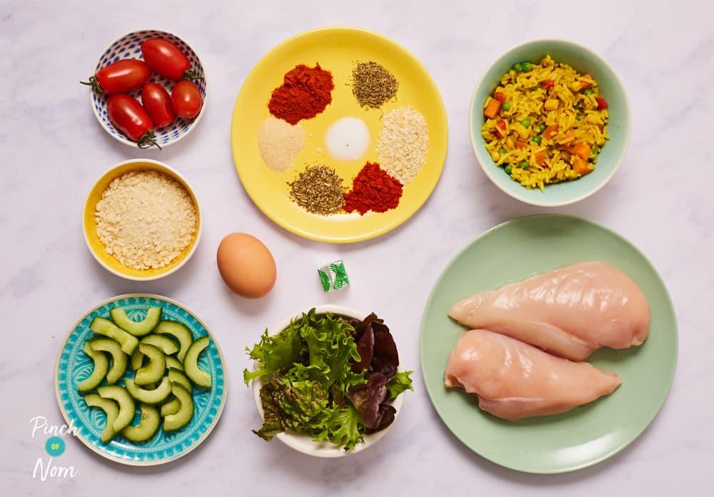KFC Rice Box - Pinch of Nom Slimming Recipes