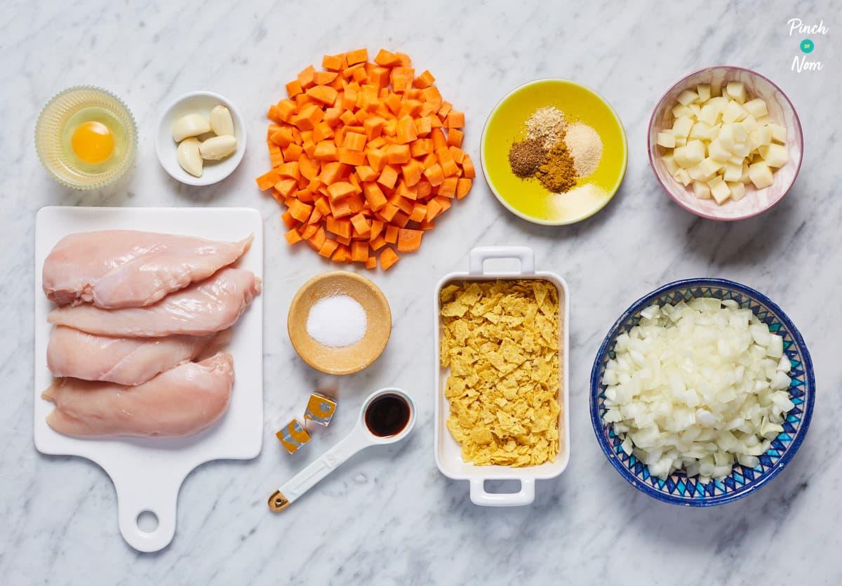 Katsu Chicken Curry - Pinch of Nom Slimming Recipes
