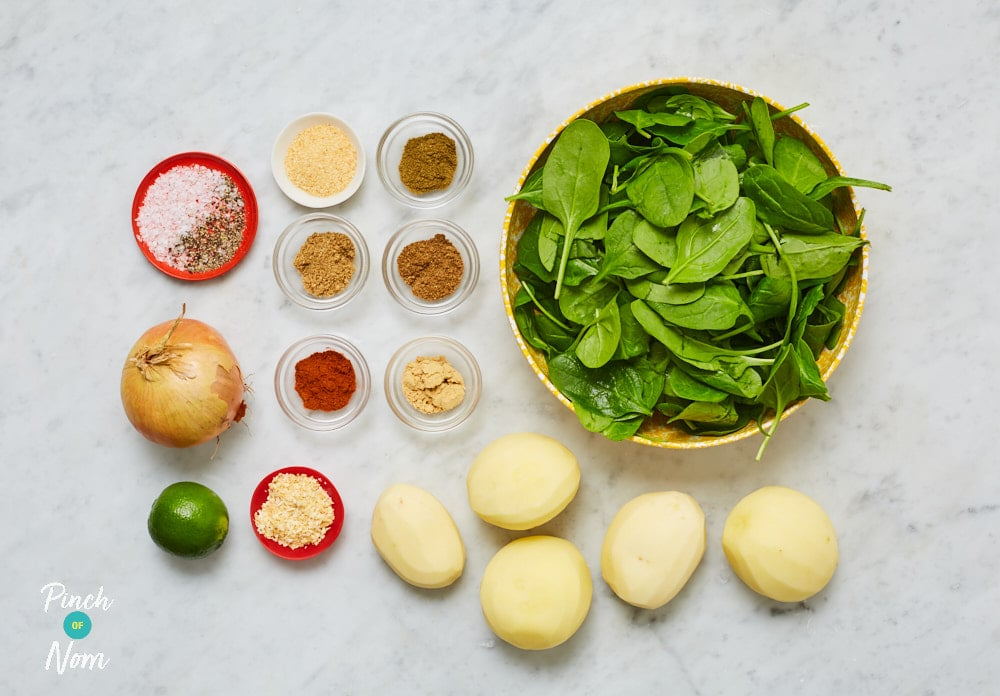Saag Aloo - Pinch of Nom Slimming Recipes