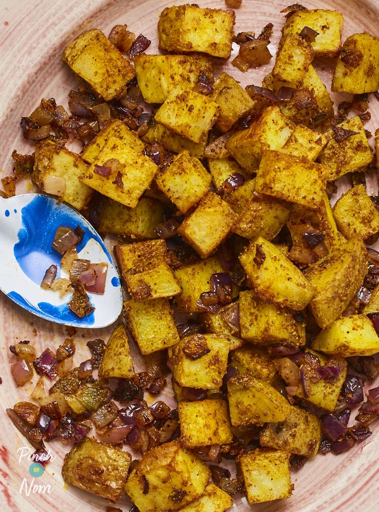 Mexican Potatoes - Pinch of Nom Slimming Recipes