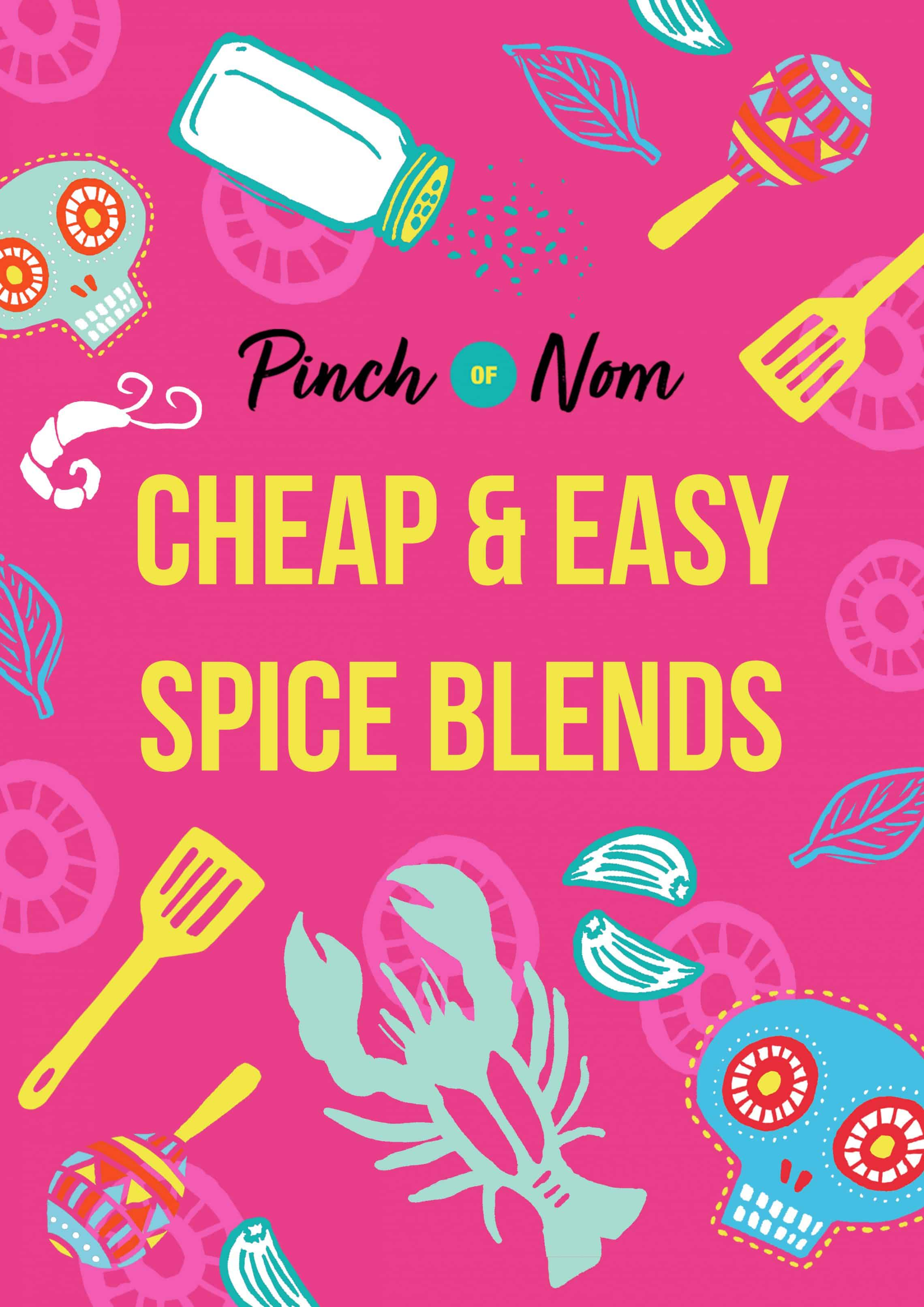 Cheap & Easy Spice Blends | Slimming & Weight Watchers Friendly