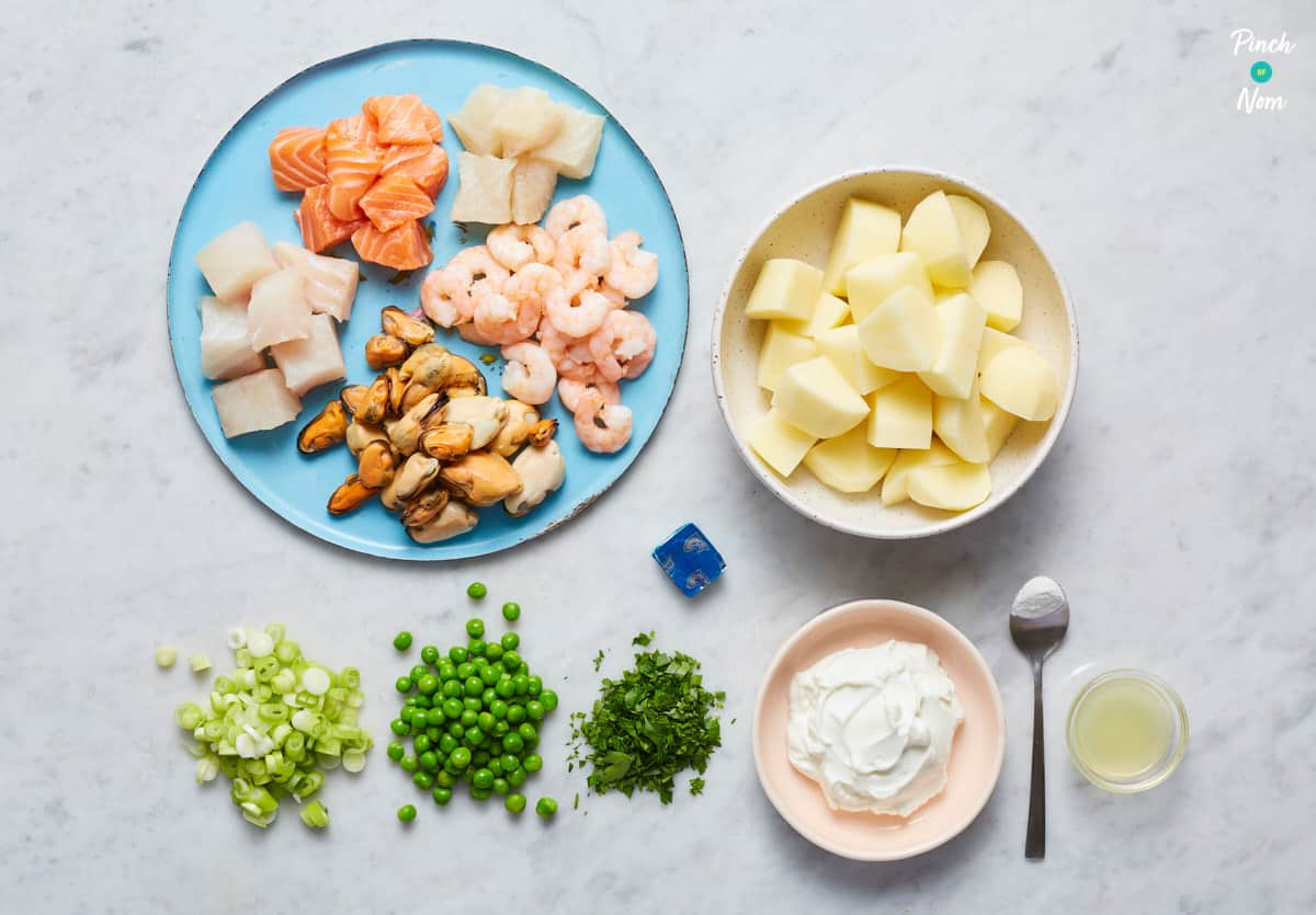 Admiral's Fish Pie - Pinch of Nom Slimming Recipes