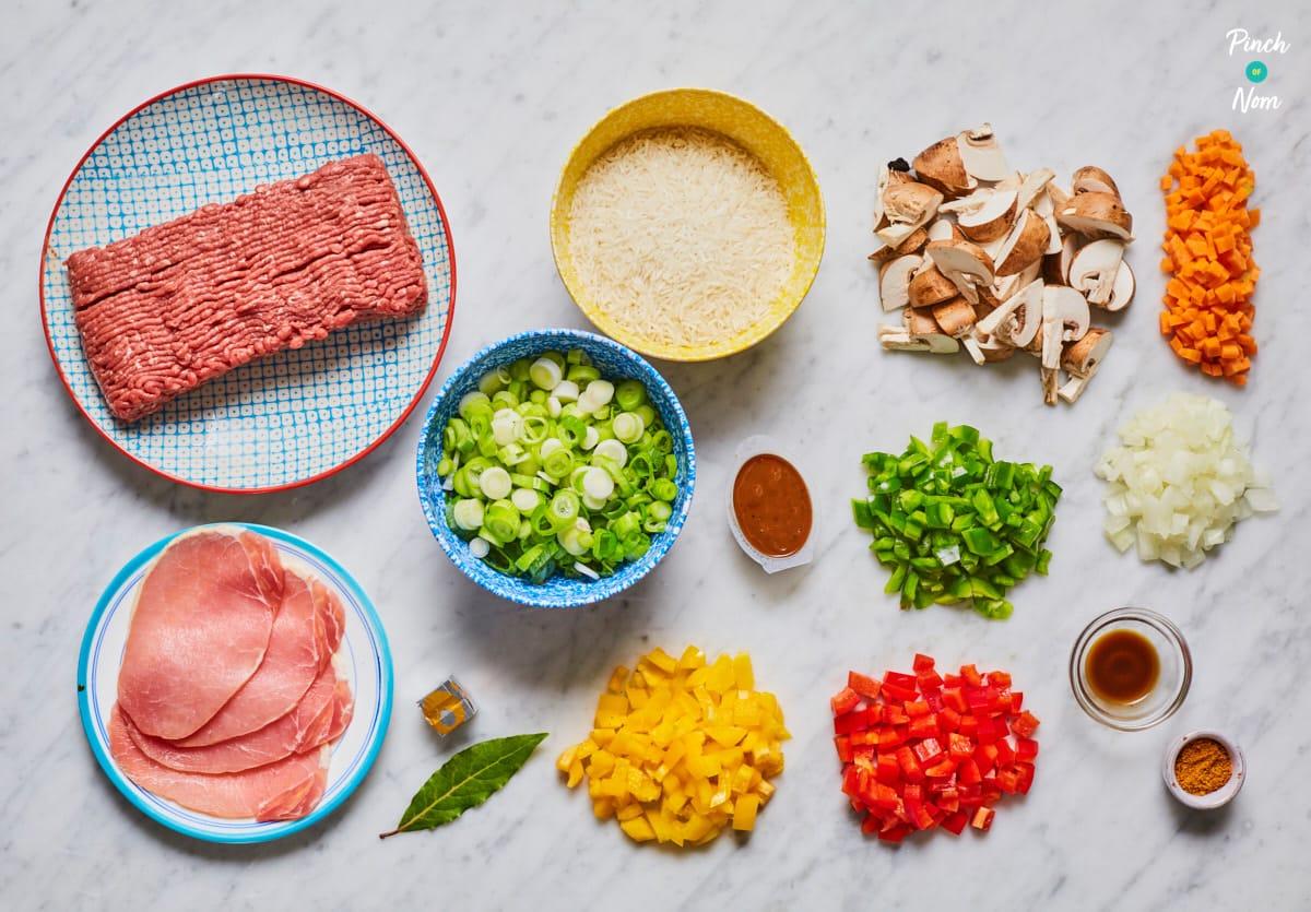 Cajun Dirty Rice - Pinch of Nom Slimming Recipes